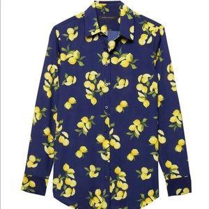 Banana Republic Dillon Lemon Shirt Classic Fit